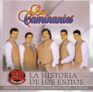 Los Caminantes La Historia de Los Exitos CD New 808835462822