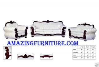 New French Provincial Living Room Set Furniture
