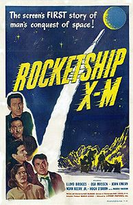 Rocketship x M 16mm Film Print Lloyd Bridges Ossa Massen