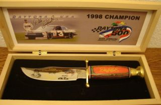 Knives Dale Earnhardt SR 1998 Daytona 500 Champion
