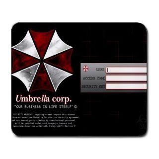 Umbrella Corp Login Resident Evil Rectangular Mouse Pad