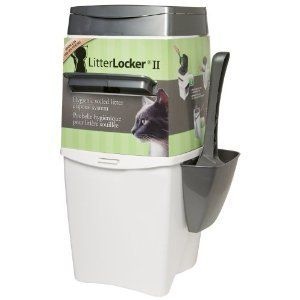 Litter Locker II Soiled Disposal System box cat genie large pet corner