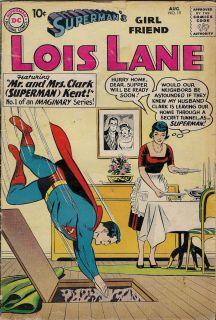 Lois Lane Supermans Girlfriend Comic Book 19 Mr Mrs Clark Superman