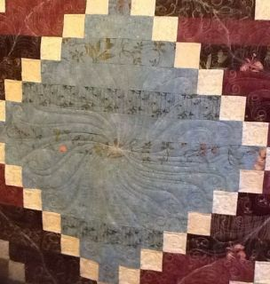Longarm Machine Quilting for Full Size Quilt Top Quilted Very Close