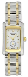Longines Dolce Vita Stainless Steel & 18k Gold Two Tone Womens Watch