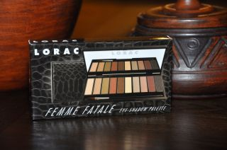 LORAC Femme Fatale Eye Shadow Palette 10 Shades Limited Edition