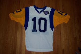 NFL Los Angeles Rams game worn used defunct vintage Tony Zendejas