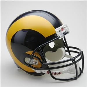 Los Angeles Rams 1981 1994 Full Size Football Helmet