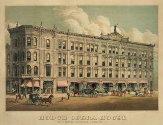 John Hodge Opera House Lockport New York 13x19 Print