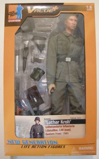 Lothar Kroh   Dragon Models WWII 1/6 scale 12 German Soldier action