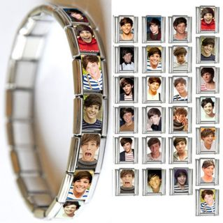 25 ONE DIRECTION 1D Up All Night LOUIS TOMLINSON Italian Charm Photo