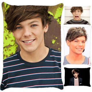 Louis Tomlinson One Direction Up All Night Photo Pillow Case 5 Choices