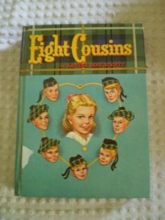 Louisa Mayalcott Eight Cousins Whitman Ed Vintage
