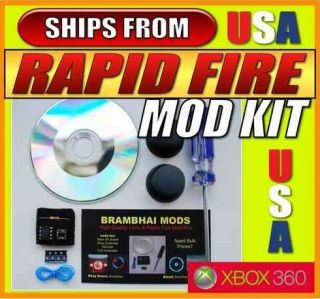 ULTIMATE Rapid Fire Mod Kit 4 Mode for Xbox 360 controllers Wired