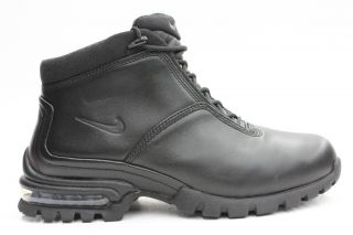 Nike Air Primo All Black Air Max Mens All Leather All Weather Boots