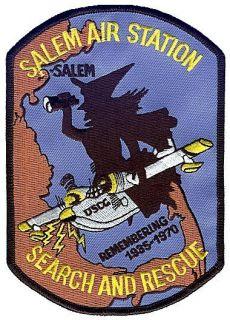 Salem Witch Remembering W5055 Coast Guard Patch