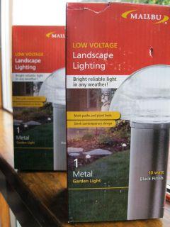 Metal Low Voltage Landscape Lights