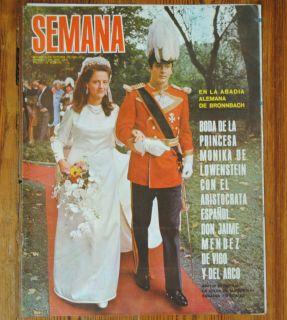 Wedding Princess Monica of Lowenstein Jaime Mendez Magazine