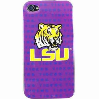 LSU Tigers Louisiana Graphics Apple iPhone 4 4S Faceplate Protector