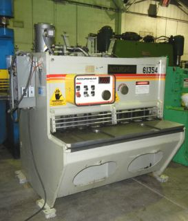 Used Accurshear Low Profile Hydraulic Shear Model 6 135 4