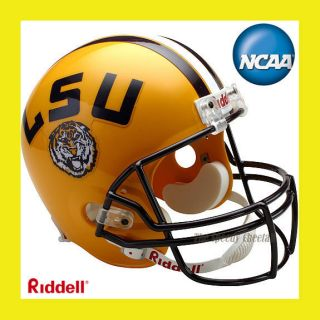 LSU Tigers Official Full Size Replica Football Helmet by Riddell