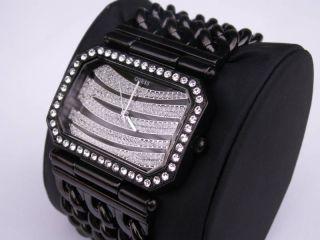 Reloj Guess Mujer Instigator Zebra Swarovski 12538L1