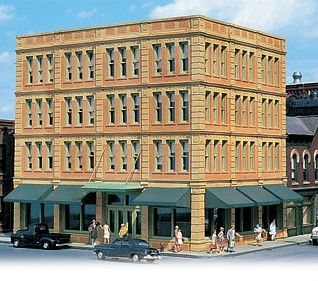 HO Scale Downtown Penney Department Store City Scenes Kit