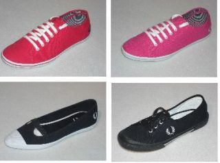 Fred Perry Ladies Trainers Shoes BNIB Various Designs