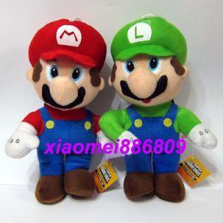 New Super Mario 13Mario and 13Luigi Plush Figure Toy