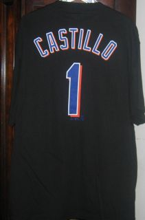 MLB New York Mets Luis Castillo Black T Shirt XL 24""