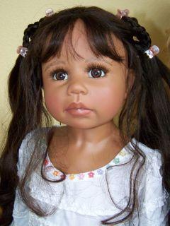 Seltene Künstlerpuppe Lucinda Doll by Monika Levenig