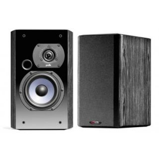 Pair LSI7 Ebony Bookshelf Loudspeakers Polk Audio