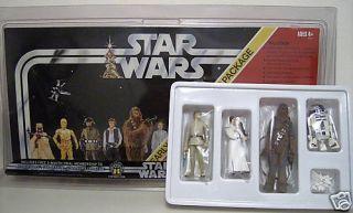 Star Wars Early Bird Package w Luke Leia R2 D2 Chewy