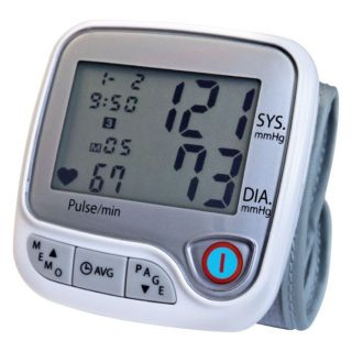 Lumiscope Advanced Automatic Wrist Blood Pressure Monitor