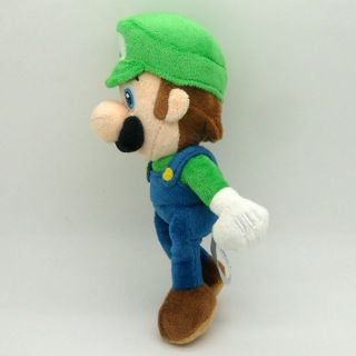New Super Mario Bros Stand Luigi Plush Doll Stuffed Toy 8