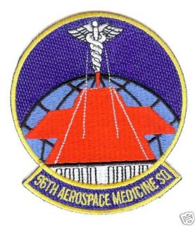 USAF Patch 56th Aerospace Medicine Sq Luke AFB AZ