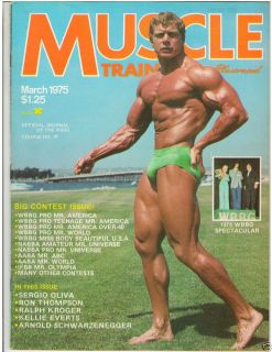 Muscle Training Dan Lurie Bodybuilding Fitness Magazine Ralph Kroger 3
