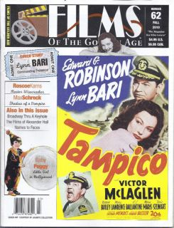Films of The Golden Age Magazine Lynn Bari Max Schreck