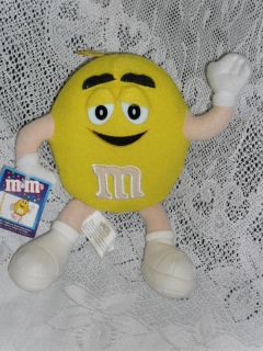 Stuffed Nanco M Ms Yellow M M Plush Toy w Tag 2001