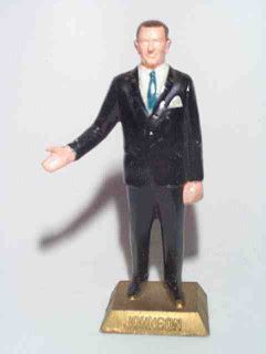 Marx 1960s US 36th President L B Johnson Painted