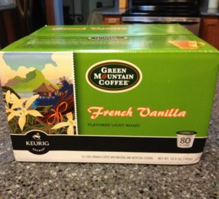 Green Mountain Coffee French Vanilla Keurig K Cups Light Roast Lots of