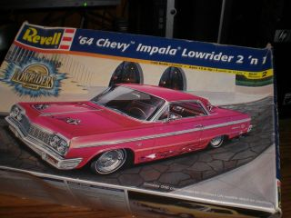 25 1964 Chevy Impala  Lowrider  2 N 1 Kit