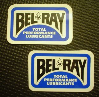 BEL RAY Lubricants Racing Team TwoTwo Racing Stickers Decals Chad Reed