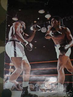 Cassius Clay M Ali vs Sonny Liston 1972 Poster