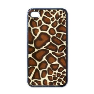 New Wild Animal Giraffe Print Skin Apple iPhone 4 4S Hard Case Cover