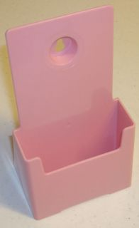 Pink Acrylic Literature Brochure Holder 4W High Quality