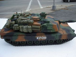 35 Scale Abrams M1 A1 Tank Built and Painted