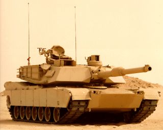 M1A2 ABRAMS Iraq War US Battle Tank RC Airsoft Radio Control Military
