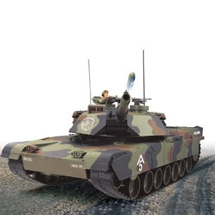 Hobby Engine R C 0811 Full Function M1A1 Abrams Bullet Shooting