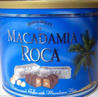 Macadamia Nut Roca Hawaiian Chocolate Toffee Candy 2 Lb